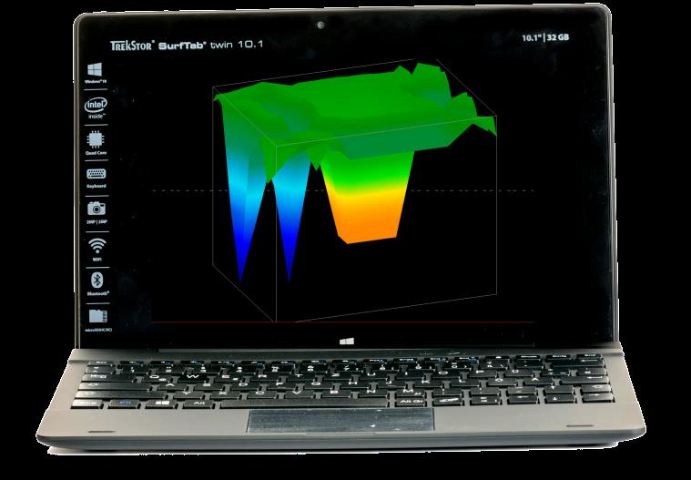 الكمبيوتر-اللوحي-المرفق-مع-جهاز-جراوند-نافيجيتور
